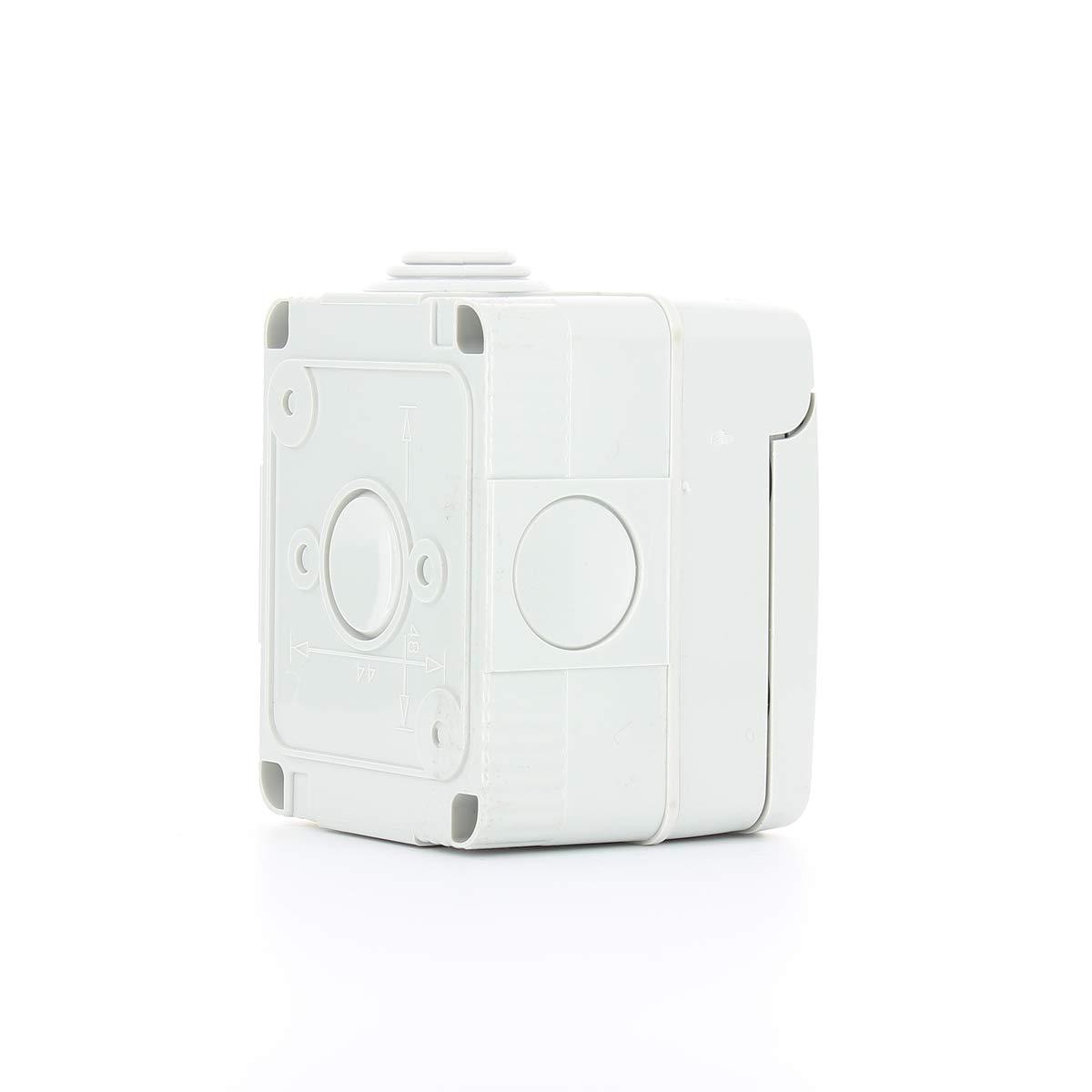 330 mm, 55 mm, 82 mm Caja para cuadro el/éctrico Gewiss GW27007 IP40 caja el/éctrica