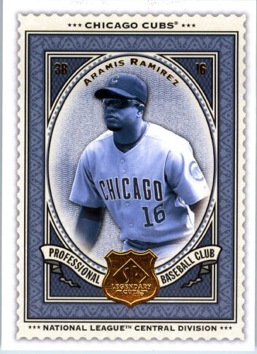 - 2009 Upper Deck SP Legendary Cuts Baseball Card # 16 Aramis Ramirez Cubs - MLB Trading Card