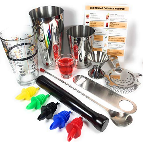 drink mixing kit and book - 9