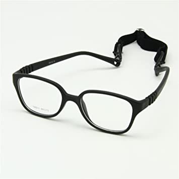 Amazon.com: EnzoDate Kids Glasses Frame with Strap Size 44/15 ...
