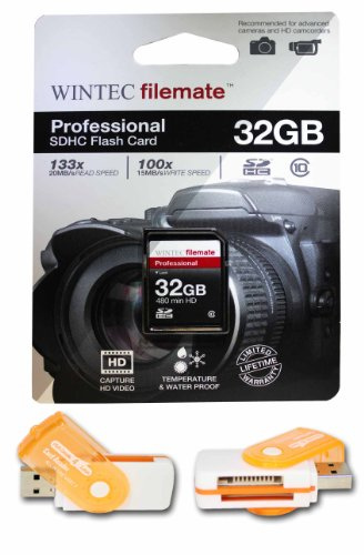 32GB Class 10 SDHC High Speed Memory Card For Canon PowerShot A800 PowerShot D10 Cameras. Perfect for high-speed continuous shooting and filming in HD. Comes with Hot Deals 4 Less All In One Swivel USB card reader and Lifetime Warranty.