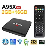 Sawpy A95XR1 Android 7.1 Smart tv Box 2G RAM+16G ROM 4K 2.4G WiFi Smart TV Box