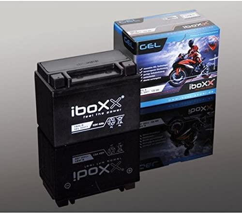 6 Ah f/ür Flex Tech Fun 50 4T 12 Volt Bj Iboxx Motorrad Gel Batterie // Gelbatterie YTX7A-BS 2008-2016