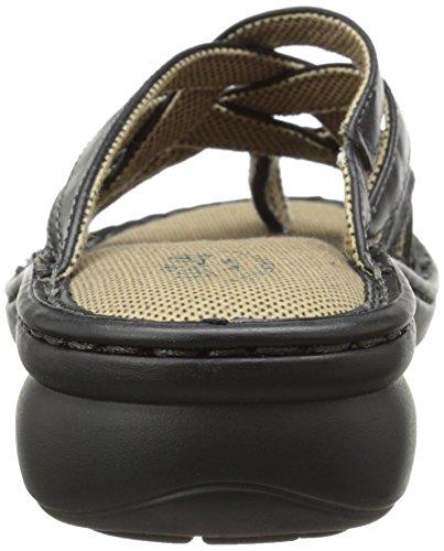 Sandalo Nero Delle Donne Del Vestito Delle Donne Di Eastland