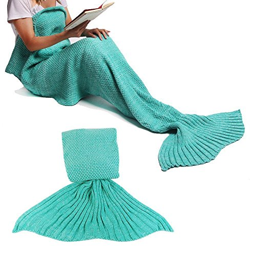 Felt Shark Hat (Mermaid Tail Blanket Crochet Mermaid Blanket for Adult and Children Pretty Handy Knitted Mermaid Tail All Seasons Sleeping Blankets Sofa Air Conditioning Blanket Sleeping Bags)