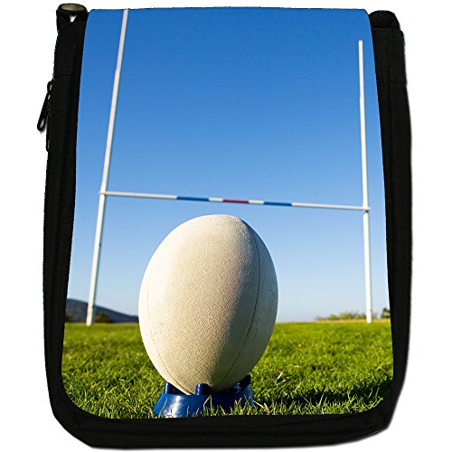 Kick Rugby Ball Ready Kit Black Cup Bag Team Medium Canvas Size World Shoulder For Penalty 6ppPwqxr