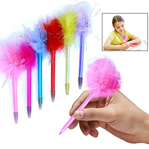Toy Cubby Marabou Colorful Feathers Pens - 1 ()