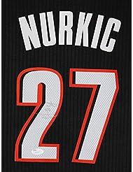 Jusuf Nurkic Portland Trail Blazers Signed Autographed Black  27 Jersey JSA  COA b30a80afc