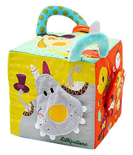 Lilliputiens - 86617 - Cube d'activités - Cirque