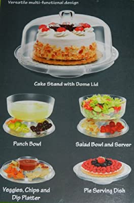 Chef Ventions Deluxe Multi-Functional Cake Stand