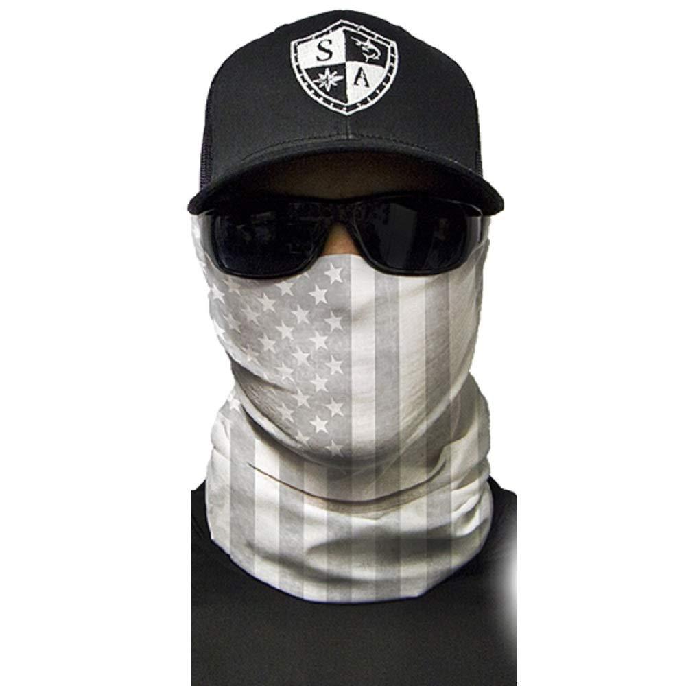 SA POLICE BLUE LINE 2 SIDED Face Shield Mask Balaclava Head band Bandana dorag