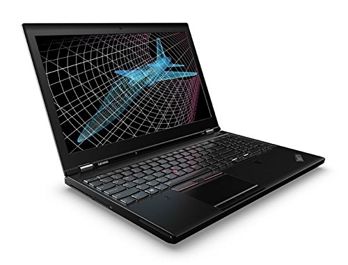 Lenovo ThinkPad P50 20En 15.6' Notebook, 16 GB RAM, 512 GB SSD, NVIDIA Quadro M2000M , Black...