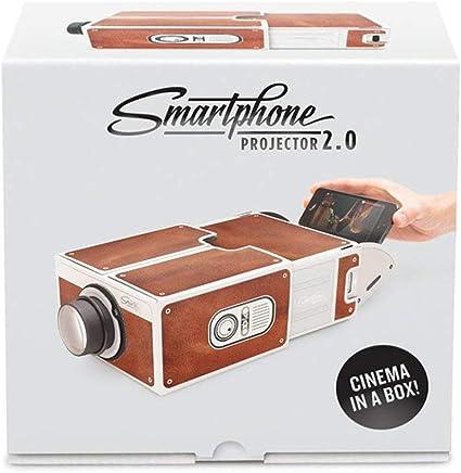 Mini proyector portátil de cartón para Smartphone, 2.0 proyector ...