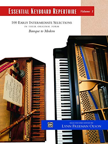 Essential Keyboard Repertoire: Vol. 1: 100 Early Intermediate Selections in Their Original Form Baroque to Modern (Item 501C) ()