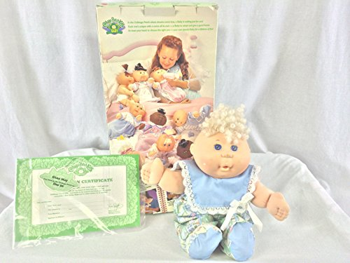 Cabbage Patch Kids Baby Gina May Dec30 1995 Birth Adoption Certificate By (Cabbage Patch Birth Certificate)