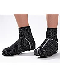 AxiEr Cycling Shoe Covers for Road or Mountain Bike Shoes Winter Cycling Windstopper Light Weight
