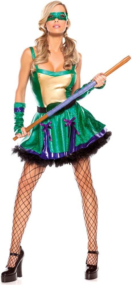 Disfraz De Halloween Cosplay Disfraz De Guerrera Ninja For Mujer ...