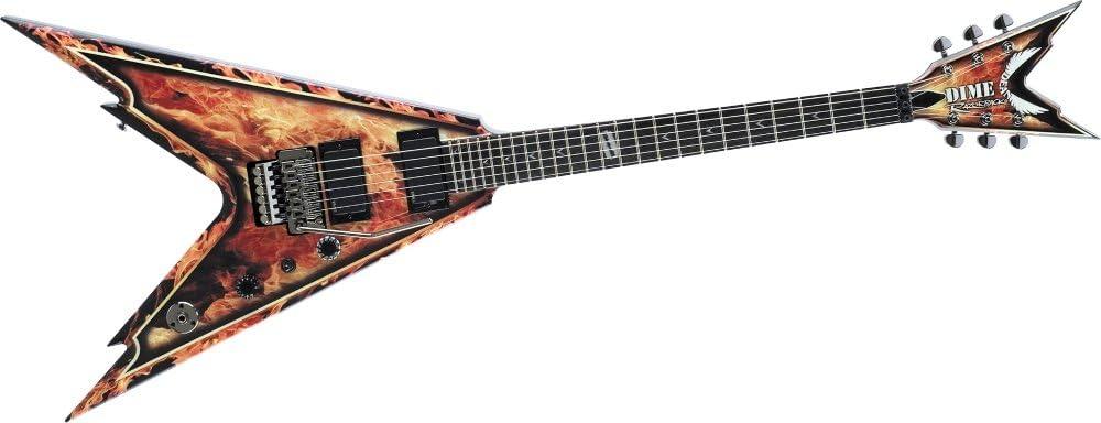 Dean RAZORBACK V 255 guitarra eléctrica explosión: Amazon.es ...