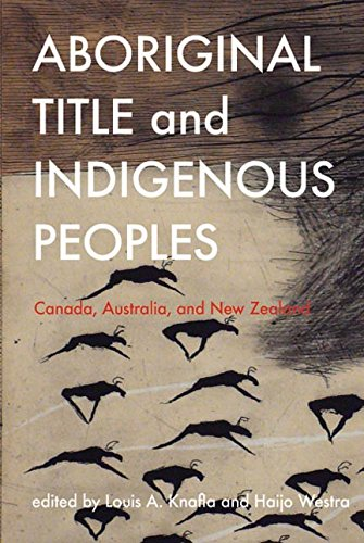 Aboriginal Title and Indigenous Peoples: Canada, Australia, and New Zealand (Law and Society) (Indian Administrative Service compare prices)