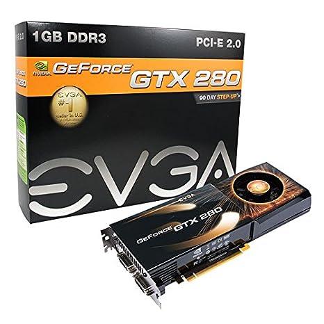 EVGA 01G-P3-1280-AR - Tarjeta gráfica (GeForce GTX 280, 1 GB ...