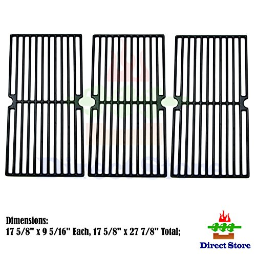 Direct store Parts DC118 Porcelain Cast Iron Cooking grid Replacement Brinkmann, Grill King Gas Grill