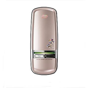 milresystech Champ 2 way solución auxiliar sin llave cerradura de puerta Digital electrónica champán oro mi350d