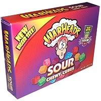 WarHeads Cherry Cubes - Sweet & Sour - Balas Importadas dos EUA