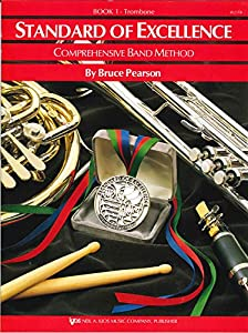 Paperback W21TB - Standard of Excellence Book Only - Book 1 - Trombone (Standard of Excellence Series) Book