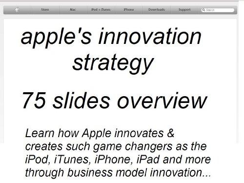 Apple's approach towards innovation and creativity