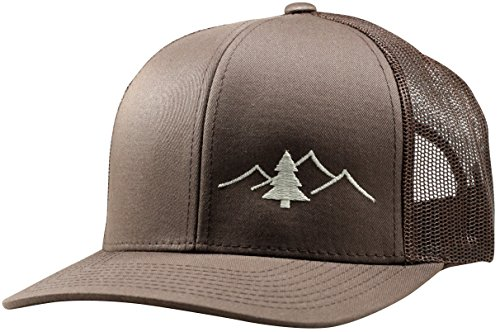 Galleon - Lindo Trucker Hat - Great Outdoors Collection - By (Brown Brown) a1411345d74