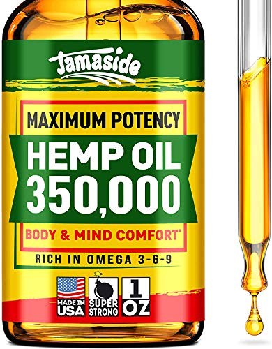 Hemp-Oil-350000-Anxiety-Stress-Relief-100-Natural-Efficient-Immune-Support-Optimum-Absorption-BIOAvailability-Ideal-Omega-3-6-9-Source-Deep-Sleep-Good-Mood-NO-GMO