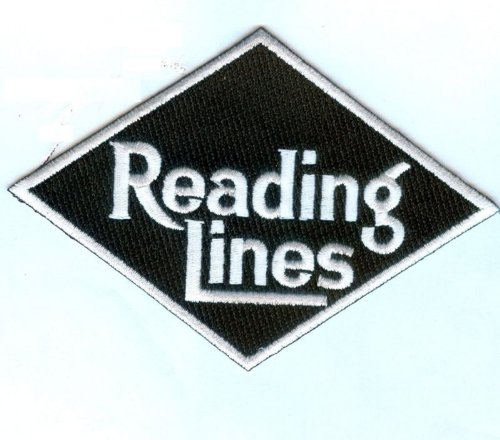 (Railroad 100% Embroidered Patch Collectible -Reading Lines)