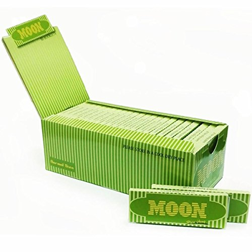 Burning Rolling Papers (50 booklets Moon 1.0
