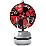 Barbuzzo Wheel of Shots - The Perfect Party Drinking Game - Pour a Shot, Spin the Wheel, Take Your Chances - Great Gift for Home Entertaining, Kickbacks, Parties, Tailgates, Celebrations