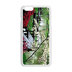 Personalized Creative Cell Phone Case For iphone 4 4s ,glam spring parks beauty scene