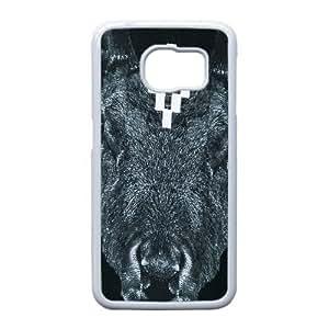 Samsung Galaxy S6 Edge Cell Phone Case white MARCELO BURLON LOGO FDHFGHFG841315