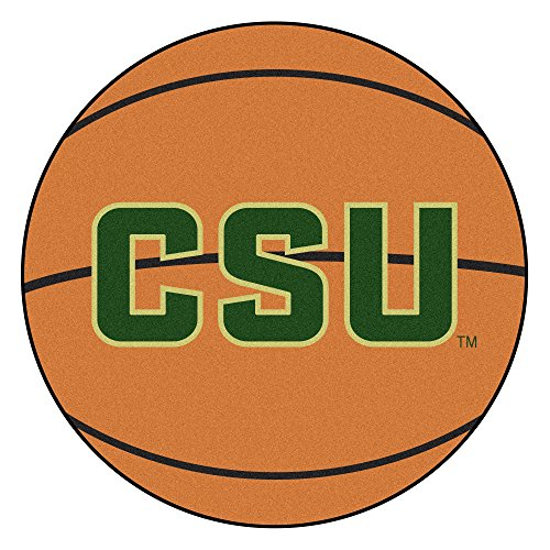 NCAA Colorado State University Rams Basketball Shaped Mat Area Rug ()