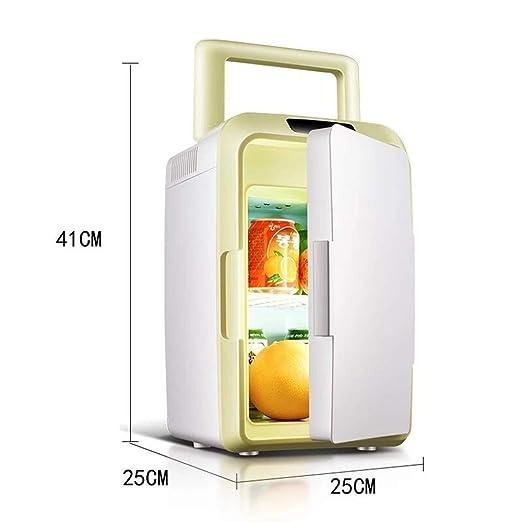 Dc/Ac eléctrico Nevera portátil, fría o caliente, aire libre ...