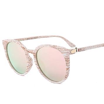 ZUIBADUDU Gafas De Sol Mujer Ligera Confort Redondo Gafas ...