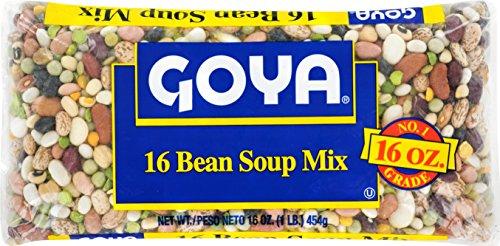 Goya Foods Bean Soup Mix, 16 Ounce