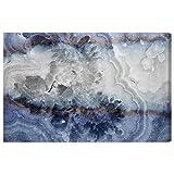 Ágata Lunar de Oliver Gal   Impresión en lienzo premium contemporáneo. The Abstract Wall Art Decor Collection. 45x30 pulgadas, púrpura