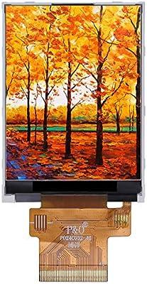 YI-WAN La adaptación de Piezas Display LCD QVGA TFT 2,4 Pulgadas Panel 240 (RGB) x320 MCU RGB SPI Pantalla IPS módulo LCD TFT 2,4 Pulgadas (Color : TFT LCD): Amazon.es: Electrónica