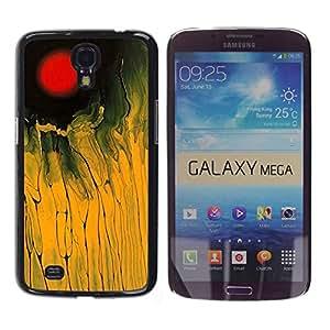 Paccase / SLIM PC / Aliminium Casa Carcasa Funda Case Cover para - Pattern Brown Black Basketweave - Samsung Galaxy Mega 6.3 I9200 SGH-i527