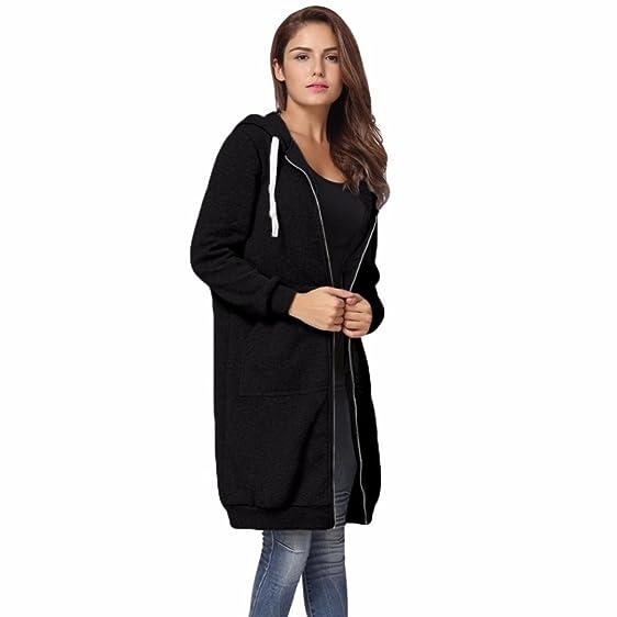 Amazon.com: Women Coat,Haoricu Fall Winter Clearance Women Warm ...