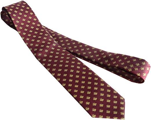 Y-WEIFENG Corbata clásica de Seda con Estampado de Abejas para ...