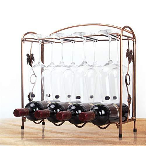 m·kvfa 2 Tier Stackable Wine Rack Metal Countertop Bottle Holder Storage for Bar Wine Cellar Basement Cabinet Pantry