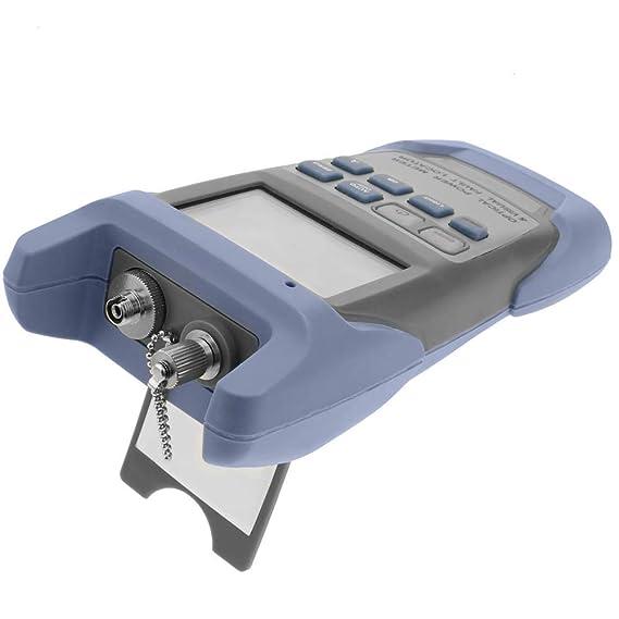 BeMatik - Generador medidor de luz para Fibra óptica 850-1625nm 1mW con Conectores FC ST y SC: Amazon.es: Electrónica