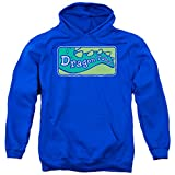 Other Cartoons Dragon Tales Animated PBS Series Show Logo Clean Adult Pull-Over Hoodie