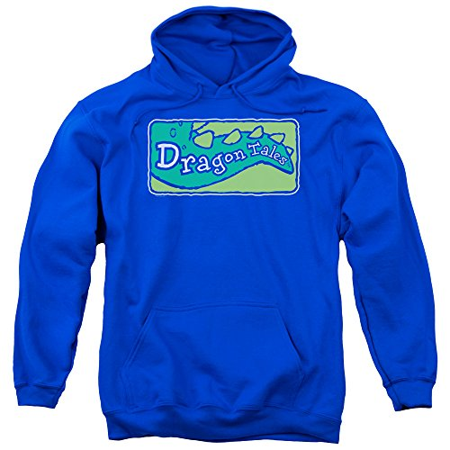 TV Show Logo -- Dragon Tales Adult Hoodie Sweatshirt
