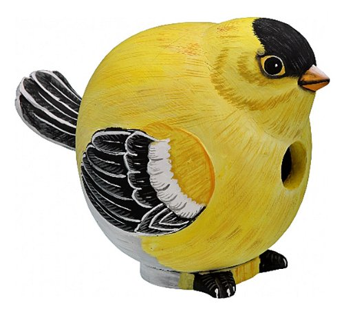 BIRD HOUSES - GOLDFINCH BIRDHOUSE - BIRD HOUSE - GARDEN DECOR